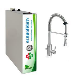 Depuratore acqua osmosi inversa Acquafidaty Compact con miscelatore tre vie Es.