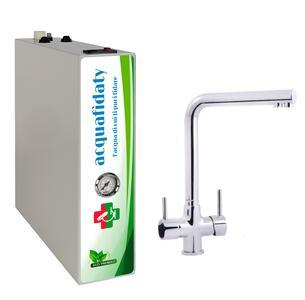 Depuratore acqua osmosi inversa Acquafidaty Compact con miscelatore tre vie Alto