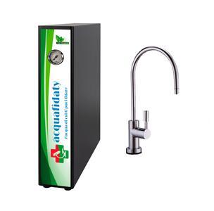 Depuratore acqua osmosi inversa Acquafidaty Elite e rubinetto una via