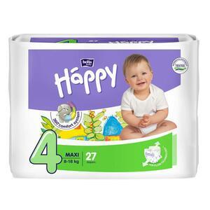 Pannolini Happy 4 MAXI 8-18 Kg - 27 pz