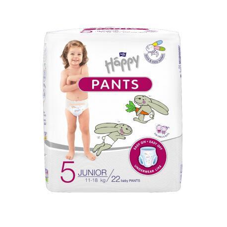 Pannolini PANTS Happy TG 5 (11-18 Kg) - 22 pz