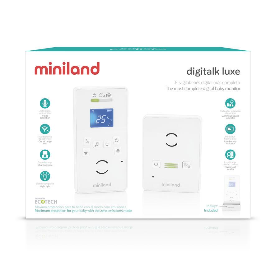 Digitalk Luxe - BABY MONITOR DIGITALE AUDIO