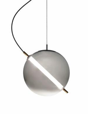 Lampada a Sospensione TERRAZZA MARTINI al LED in Vetro Soffiato di Rossini Illuminazione - Offerta di Mondo Luce 24