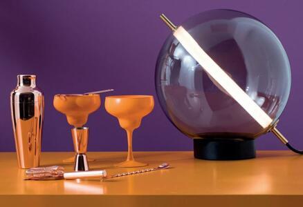 Lampada da Tavolo TERRAZZA MARTINI al LED in Vetro Soffiato di Rossini Illuminazione - Offerta di Mondo Luce 24