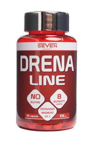 DRENA LINE - Integratore alimentare a base di estratti di piante con vitamina C e minerali - 90 cps