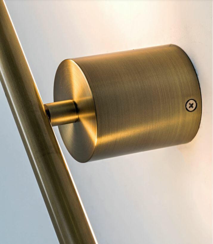 Lampada da Parete Orientabile DAISHO al LED in Alluminio di Rossini Illuminazione, Varie Finiture - Offerta di Mondo Luce 24