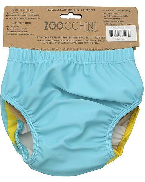 Set 2 Costumini Contenitivi Zoocchini - Foca