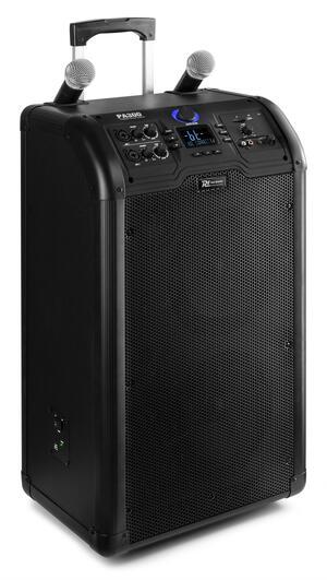 "Power Dynamics - PA300 PORTABLE 2 X 8"" SOUND SYSTEM SD/USB/MP3/BT"