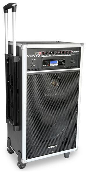 Vonyx - ST180 PORTABLE SOUND SYSTEM 12'' 450W