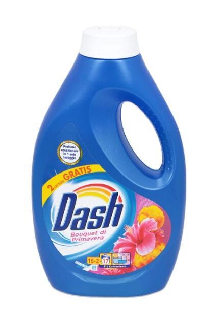 Dash Lavatrice Liquido 17 LAVAGGI Primavera