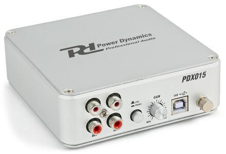 Power Dynamics - PDX015 USB PHONO PRE-AMPLIFICATORE CON SOFTWARE
