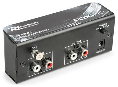 Power Dynamics - PDX010 PHONO PREAMPLIFICATORE