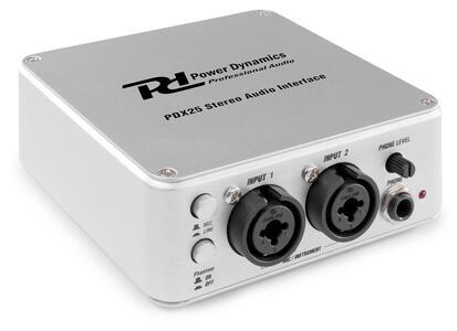 Power Dynamics - INTERFACCIA AUDIO USB PDX25 2CH
