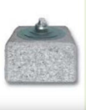 Torcia Granito Vulcano 15x15x13 h