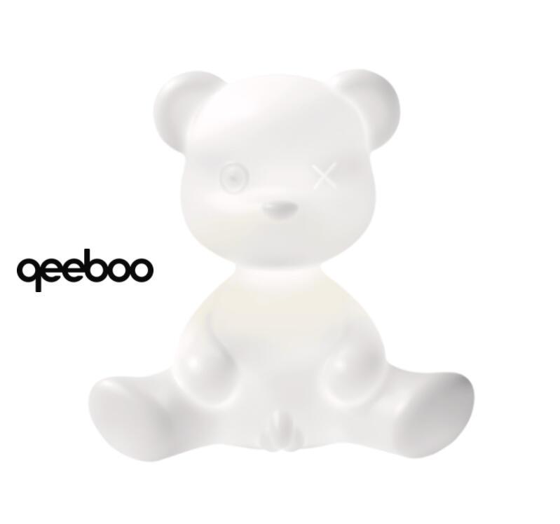 Lampada da Tavolo e da Terra Teddy Boy LED di Qeeboo in Polietilene - Offerta di Mondo Luce 24
