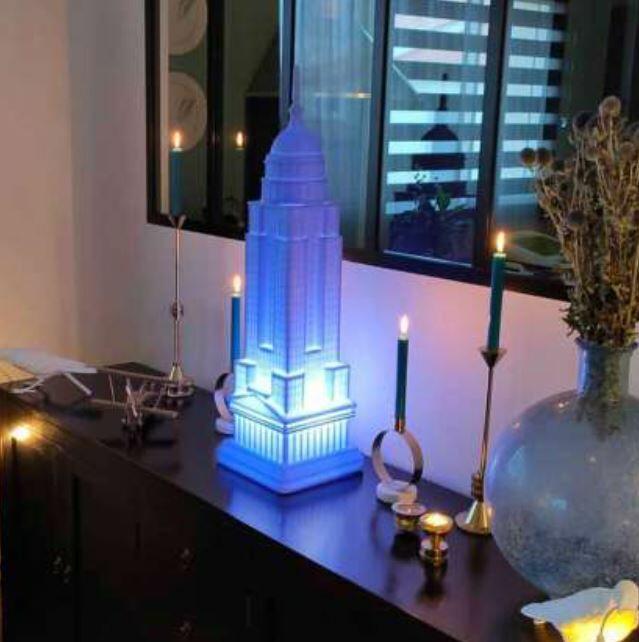 Lampada Ricaricabile da Tavolo e da Terra Empire al LED di Qeeboo - Offerta di Mondo Luce 24