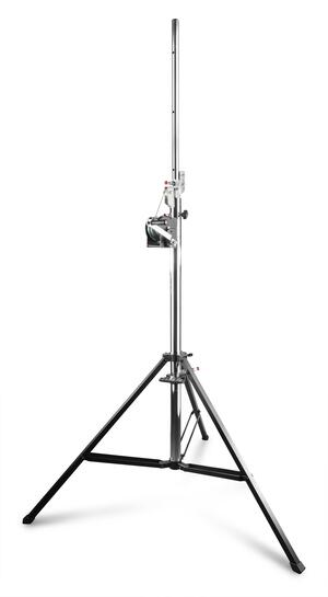 Beamz - WLS80 LIGHT STAND WITH WINCH 80KG
