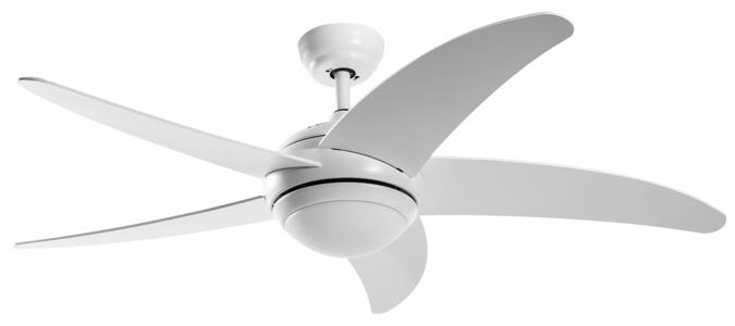 Ventilatore a Soffitto GRECALE al LED in Alluminio di Rossini Illuminazione, Varie Finiture - Offerta di Mondo Luce 24