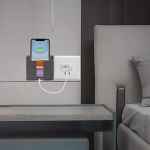 Portacellulare da Parete Porta Cellulare Smartphone a Muro Supporto Sostegno Telefono Ricarica Colori Assortiti 10 cm