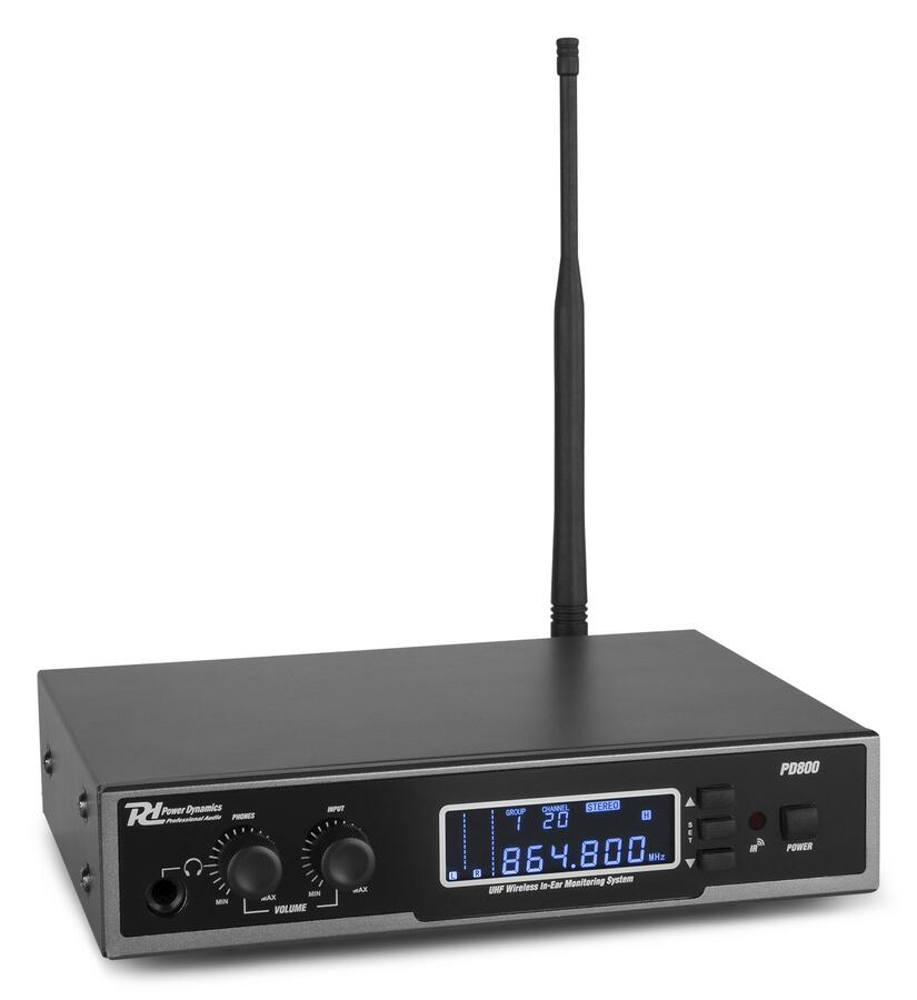 Power Dynamics - PD800 IN EAR MONITORING SYSTEM UHF