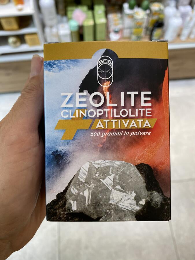 Zeolite attivata pura 100%