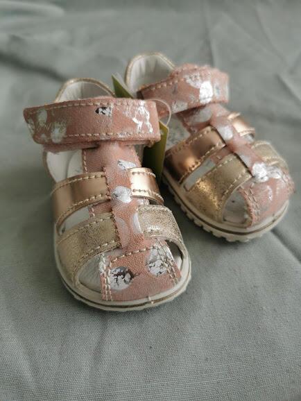 Sandalo primipassi bimba elegante