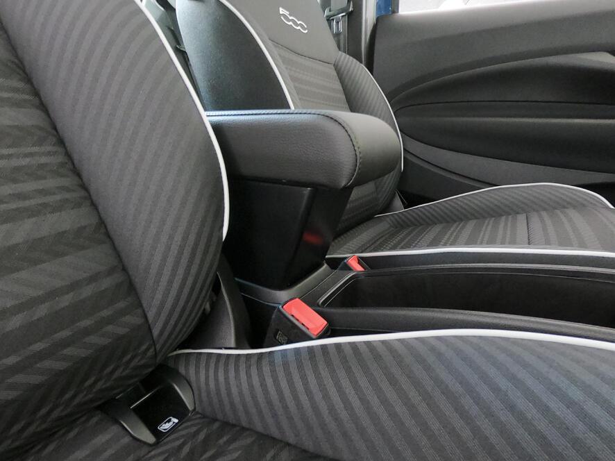 Accoudoir réglable en longueur avec porte-objet pour Fiat 500E (électrique)