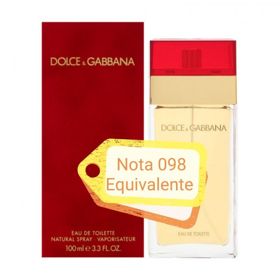 Nota 098 ricorda Dolce e Gabbana Rosso