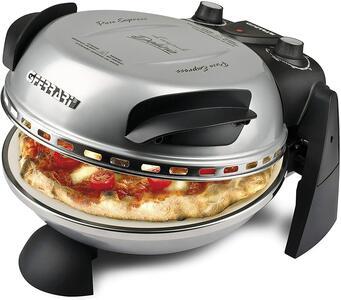 G3 FERRARI G1000606/8 Fornetto Pizza Delizia Potenza 1200 Watt Colore Argento