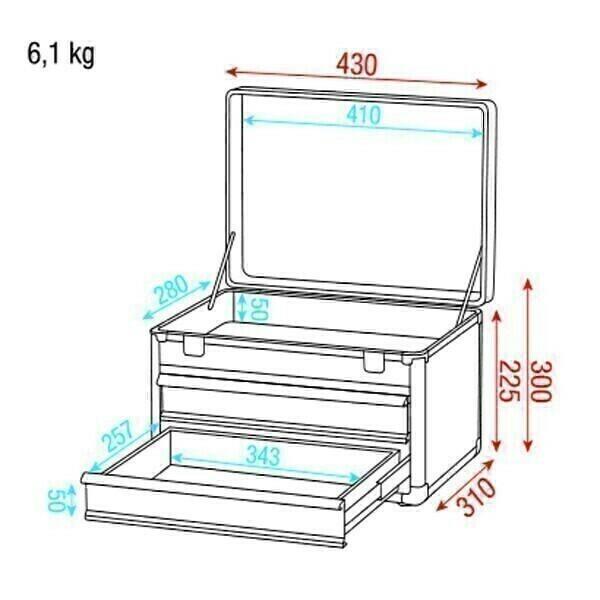 Showgear Tool Case 3