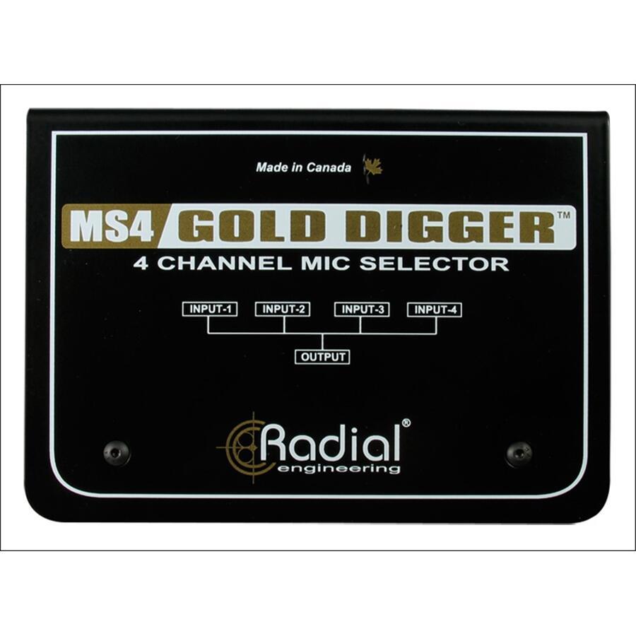 RADIAL ENGINEERING - GOLD DIGGER