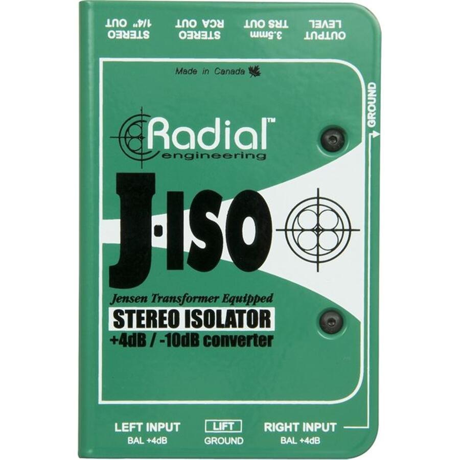 RADIAL ENGINEERING - J-ISO