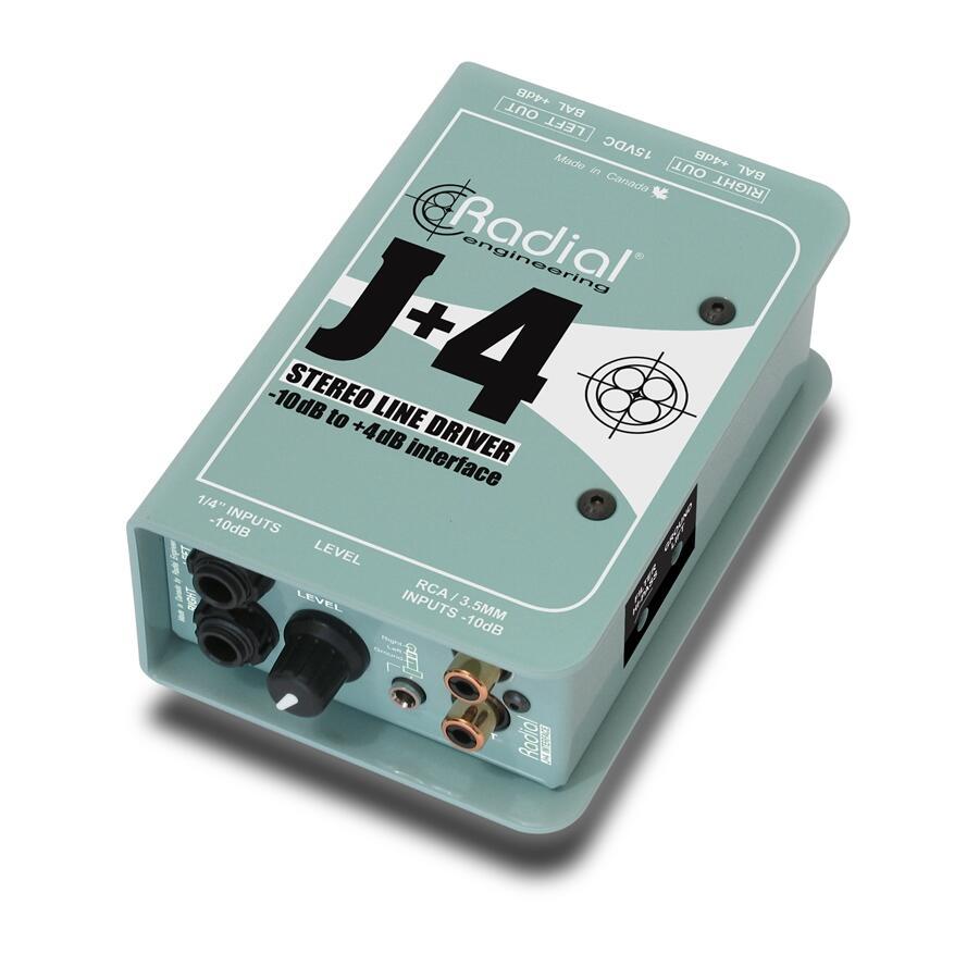 RADIAL ENGINEERING - J+4