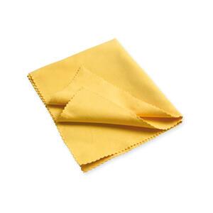 10 Panni in microfibra colore giallo formato cm. 30X35