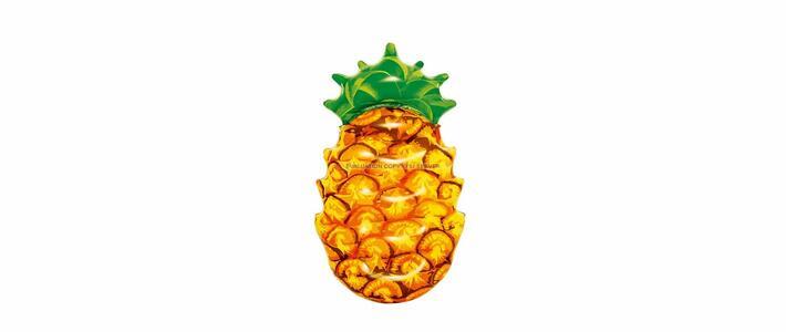 Materassino Fashion Ananas 3D, CM 174x96 BESTWAY