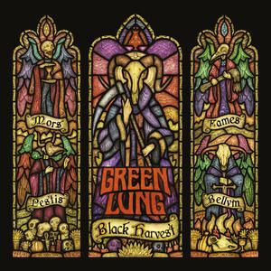 GREEN LUNG - BLACK HARVEST - LP LTD EDITION (Svart Records)