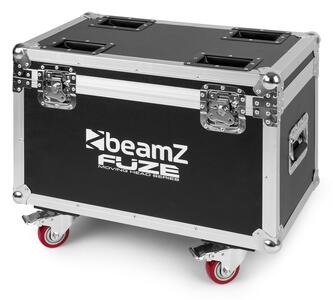 Beamz Pro - FCFZ4 FLIGHTCASE PER TESTE MOBILI SERIE FUZE DA 4 PEZZI
