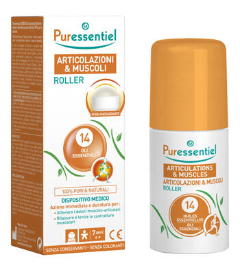 PURESSENTIEL MUSCLES & JOINTS Roller with 14 essential oils