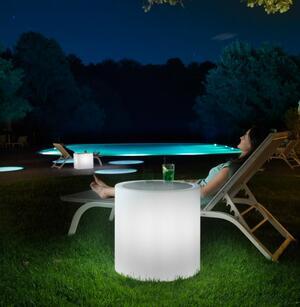 Tavolino Luminoso al LED per Esterno HOME FITTING CILINDRO di Lyxo Design - Offerta di Mondo Luce 24