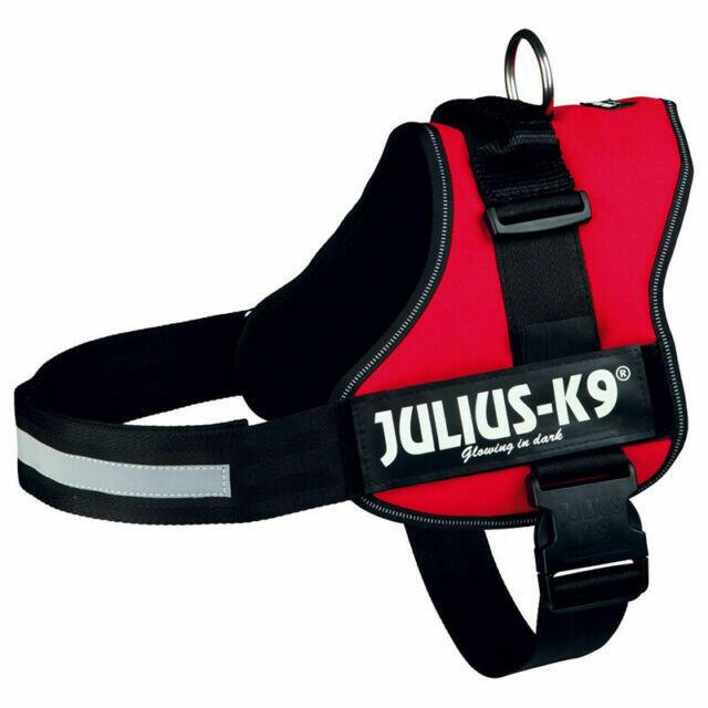 Julius k9 IDC Rossa S Mini 49-67 cm Peso 7-15 kg Pettorina Per Cani