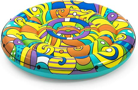 Bestway 43195 | Art Collection - Isola gonfiabile POP, 188 cm