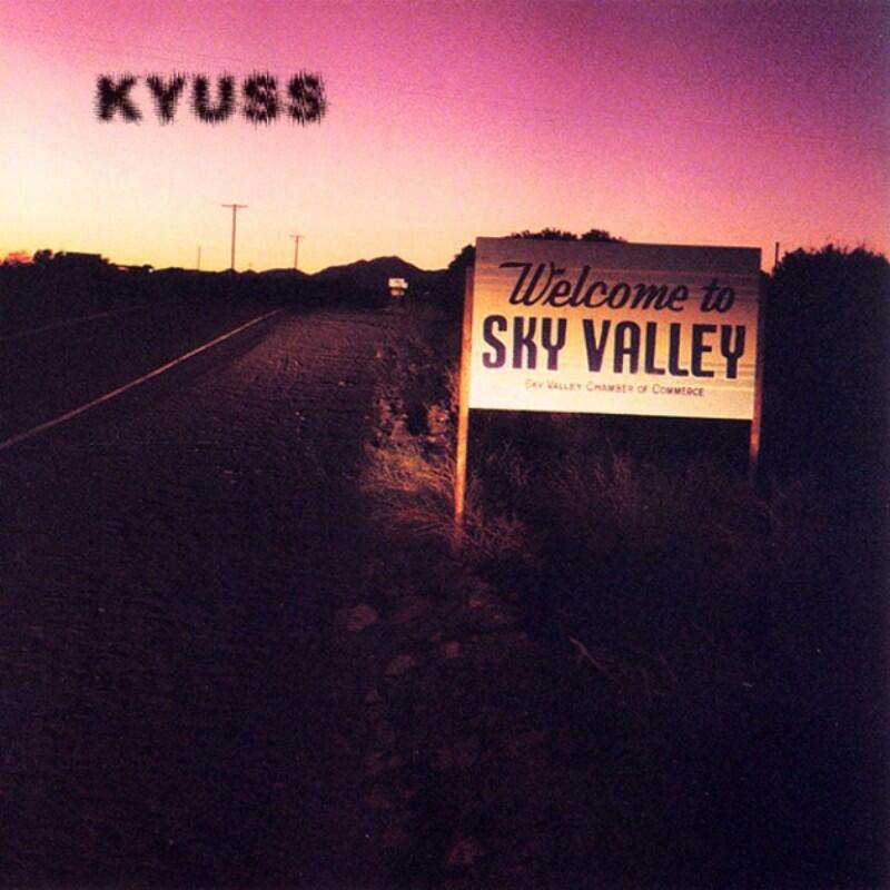 KYUSS - WELCOME TO SKY VALLEY - LP (Wea)