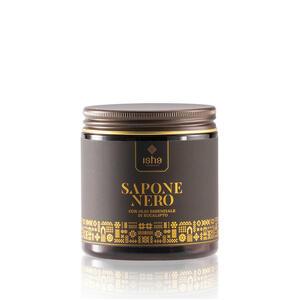 Sapone Nero Africano con olio essenziale di Eucalipto