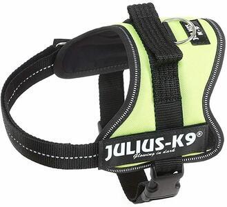 Julius k9 IDC Gialla Fluo S Mini 49-67 cm Peso 7-15 kg Pettorina Per Cani