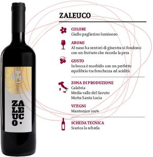 Vino Calabria Bianco IGT Zaleuco, Cantina  Le Moire, 750 ml