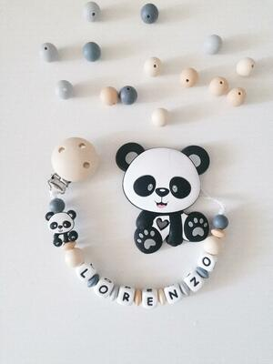 Panda naturale con massaggiagengive