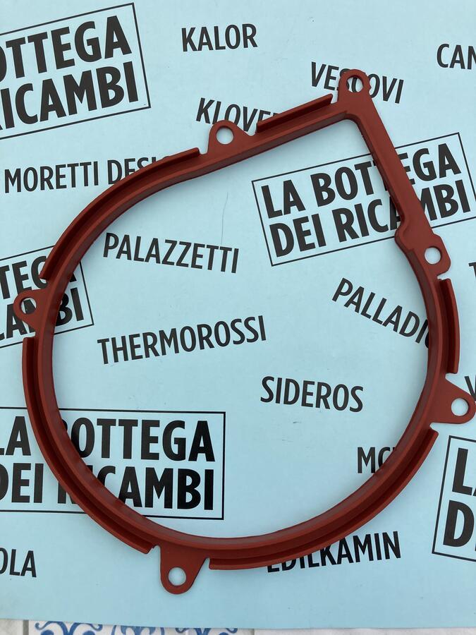 GUARNIZIONE SILICONICA ESTRATTORE FUMI 6 FORI L'ARTISTICO