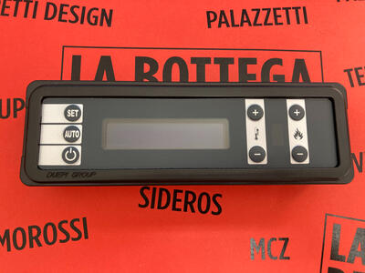 DISPLAY LCD 7 TASTI DUEPI GROUP STUFE AMBIENTE & CALORE