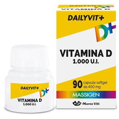 DAILYVIT Vitamina D 1000 U.I.