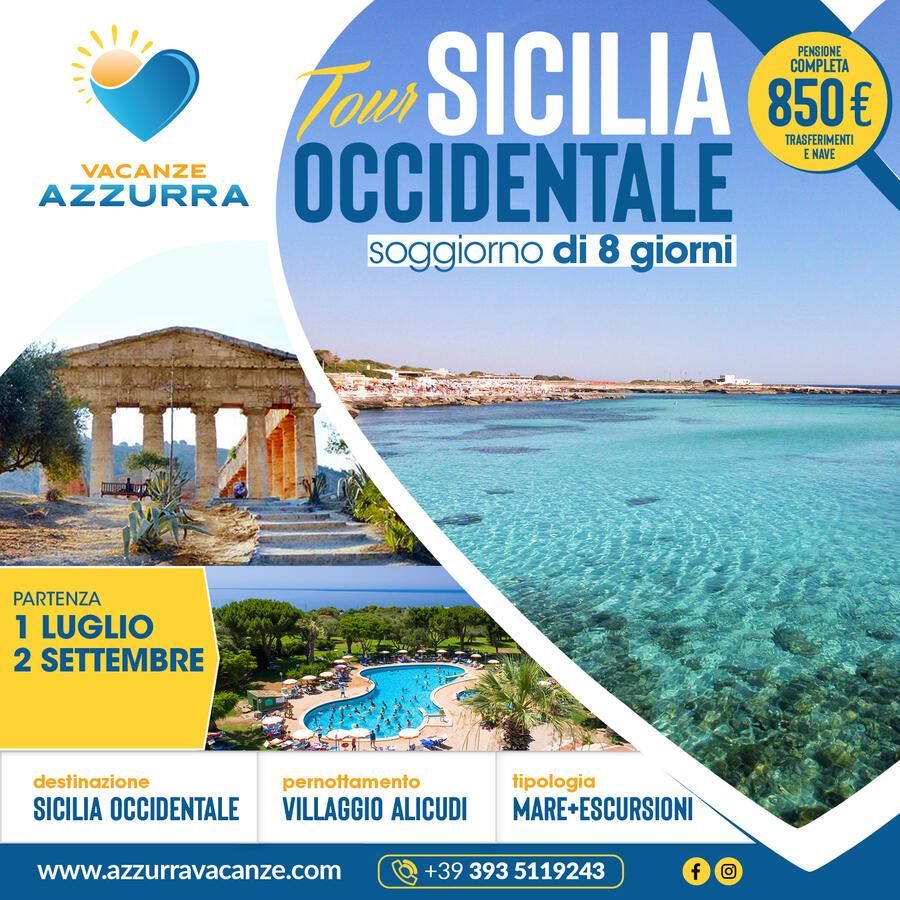 TOUR 10 GIORNI SICILIA OCCIDENTALE